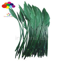 50 Pcs army green arrow turkey feathers 25-30 CM/10-12 INCH for jewelry Carnival