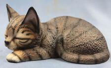 katze Katzenfigur Porzellanfigur porzellan figur cat gestromt royal presente