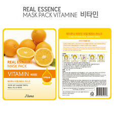 Jluna Korean Cosmetics Fresh Natural Plant Essences Face Mask Pack 1PC Vitamin