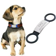 Dog ID Tag Dog Collar Personalised Name Engraving Harness Security High Quality