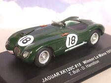 Jaguar Xk120c N°18 le Mans 1953 IXO Lm1953 1 43 Arrivée 1èr