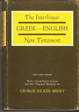Greek-English Interlinear KJV New Testament George Ricker Berry