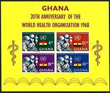 GHANA - BF - 1968 - 20° anniversario dell'Organizzazione Mondiale della Sanità
