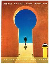 Publicité Advertising 1984 Parfum Pour Homme Pierre Cardin