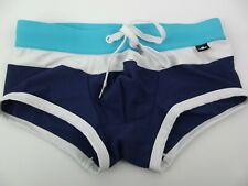 Andrew Christian Swimsuit Swimwear Swim Brief XSmall Blue NWOT