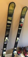 2013 LINE PROPHET 90 (186 Cm) About 30 Days On Snow With Marker Squire Bindings