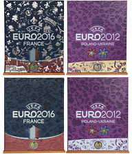 HOBBY SAPIENS BINDERS for Panini EURO hardcover albums - all 4 (so far)!