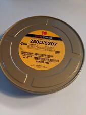 KODAK VISION 3 35mm Filmdose Blechdose 122m gebraucht 500T/250D/200T/50D