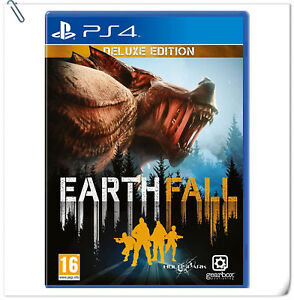 PS4 Earthfall [Deluxe Edition] Sony PlayStation Gearbox Shooting Games
