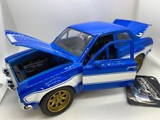 1974 Ford Escort JADA Fast And Furious 1:24 Diecast Car