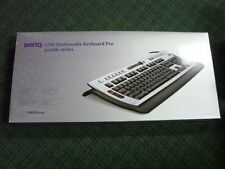 BenQ x700 Multimedia Keyboard Pro (BMW Group Design) USB / PS2  New!