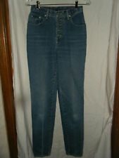 New York & Co. NY Jeans Button Fly Classic Tall Straight Leg Jeans - Size 4T