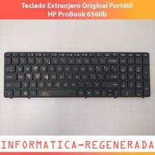 Teclado Extranjero Original Portátil HP ProBook 6560b OK