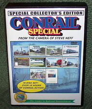 "20231 TRAIN VIDEO DVD BOX SET ""CONRAIL SPECIAL"" COLLECTORS EDITION STEVE NEFF"