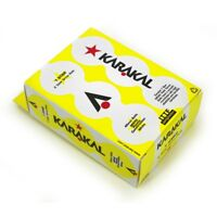 KARAKAL TABLE TENNIS BALL 1 STAR STANDARD (6 BALL BOX WHITE)