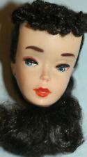 *Vintage 1960 Barbie #3 Ponytail #850 Brunette Head Only-Near Excellent