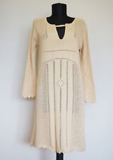Odd Molly #255 Beige Knitted Dress, Size:1