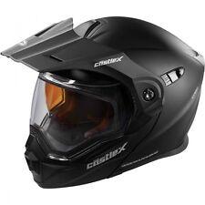 Castle EXO-CX950 Matte Black Modular Snowmobile Helmet S-3XL