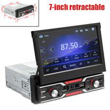 7'' Retractable Screen Mp5 Player U Disk Bluetooth Reversing GPS FM/AM Audio USB