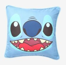 DISNEY LILO & STITCH BIG FACE STITCH PILLOW COVER  TOSS PILLOW COVER 16'' X 15''