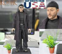 "KUMIK 1/6 Jean Reno Leon The Professional Leon 12"" Male Figure Set USA IN STOCK"