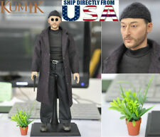 "KUMIK 1/6 Jean Reno Leon The Professional Leon 12"" Male Figure Set USA IN STOCK"