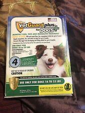 New listing VetGuard Plus 4 Month Flea Tick & Mosquito Treatment Medium Dog 16-33 lbs New