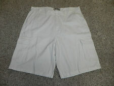 PAPER DENIM & CLOTH PD&C MENS OFF WHITE CARGO SHORTS SIZE 30 NWOT