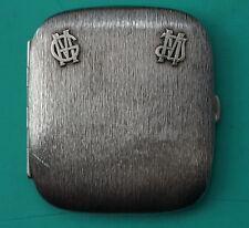 Seltenes  Zigarettenetui  Weihnachten 1914  Silber 98 Gr.  silver cigarette case