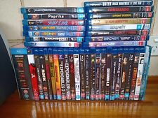 Blu Ray Movies: Choice from Variety of Region B/Region Free Action/Sci Fi/Anime