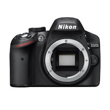 Nikon D3200 24.2 MP Digital SLR Camera Body Black