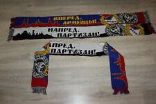 Scarf CSKA Moscow Partizan Belgrade Russia Football Ultras Scarves Schal Soccer