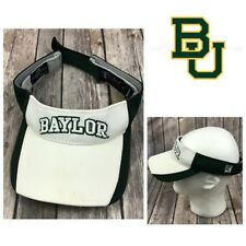 Baylor Bears The Game Visor Hat Big 12 BU Green and White Adjustable Strap-back
