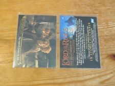 50 card lot 2001 LORD OF THE RINGS #P2 PROMO SAMPLE PROTOTYPE Topps LOTR