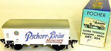 Pschorr Bräu München Bierwagen DB 516 942 POCHER Art. 324 1:87 H0 OVP  å √