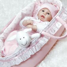 Paradise Galleries Newborn Baby Doll Rachael & Ramsey - Realistic Sleeping Girl