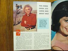 May 2-1965 NY Journal American TV Mag(LORNE GREENE/SHIRLEY JONES/MELINA MERCOURI