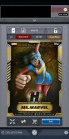 Topps Marvel Collect Digital VIP Ms Marvel Bundle