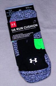 Under Armour Socks 'UA Run Cushion' | M | Tab Height | New With Tags
