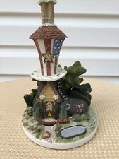 Shoemaker'S Dream Shoe Houses Uncle Sam'S Boot Shoe Figurine By John Herbert