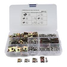 170Pcs Swordfish 31390 Stainless Steel Screw & U Nut/U-Clip Assortment 6/8/10/12
