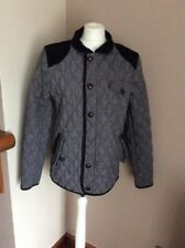 mens Nanny State Coat Size M Quilted Zip Fastening Used