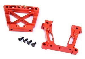 CNC Alloy Metal Rear Bulk Head Set  for HPI KM Rovan Baja 5b 5t 5sc