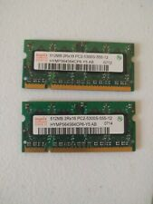 Hynix 1GB Kit (2 x 512MB) DDR2 667 PC2-5300S SODIMM RAM Memory Modules