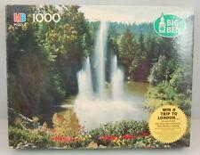 MB Milton Bradley Big Ben 1000 pc. Puzzle Burkhart Gardens Victoria B.C. Sealed