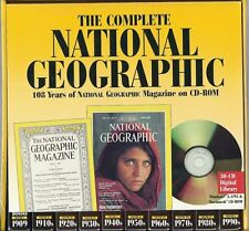 The Complete National Geographic 108Years on Cd-Rom for Pc,Mac