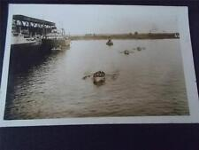 Canadian POSTCARD of BOAT RACE MONTREAL CANADA 1926 taken from SS RMS ANTONIA