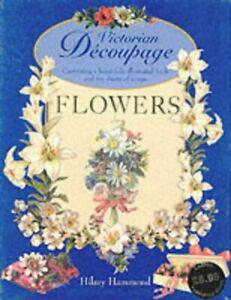 Victorian Decoupage  Flowers