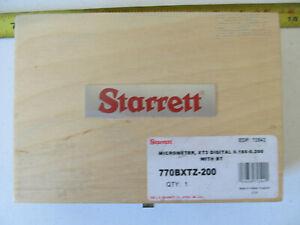 """Aircraft Tools Starrett digital micrometer .160-.200"""""""