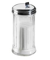 Zuckerdosierer Zuckerstreuer Stabil Edelstahlgewinde 300 ml Neu OVP Qualitativ